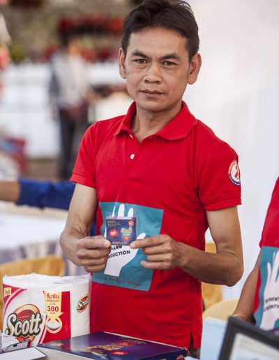 World Aids Day 2017-Vientiane-bénévole