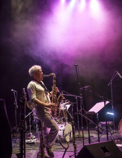 Photographie événementielle. Brussels Jazz Meeting 2017. Saxophoniste du groupe Trio Grande