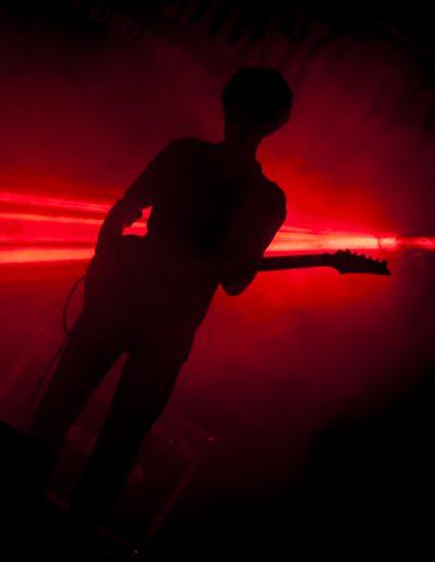 silhouette de joueur de guitare. Maldives 2013