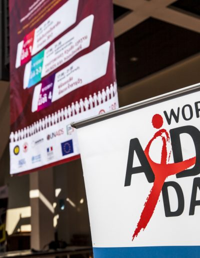 World Aids Day 2017- Vientiane- Bannière