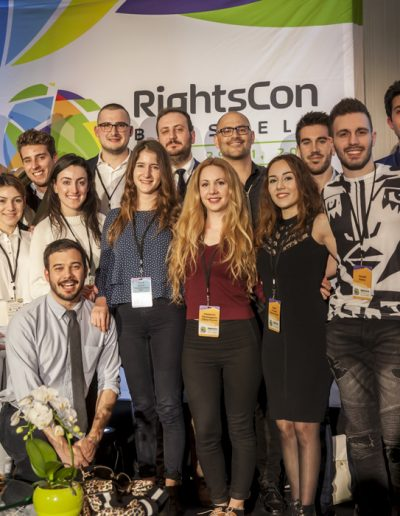 RightsCon 2017- photo de group