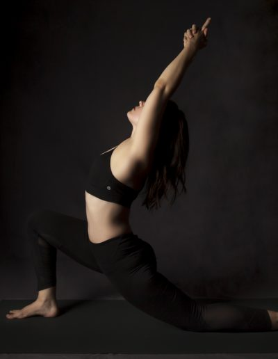 Photo yoga- anjaneyasana