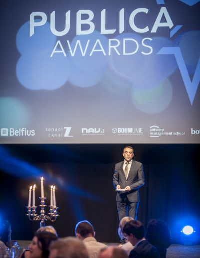 Publica Awards 2017-Bruxelles- présentateur