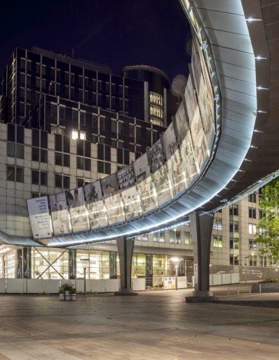 Photographie d'architecture. Parlement Européen, Bruxelles. Massimo Municchi photographe.