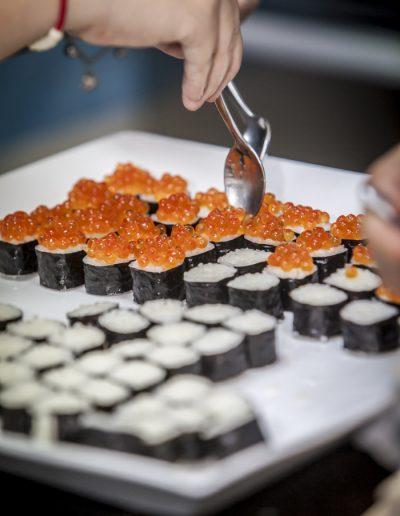 Photographie de produit. Sushi.