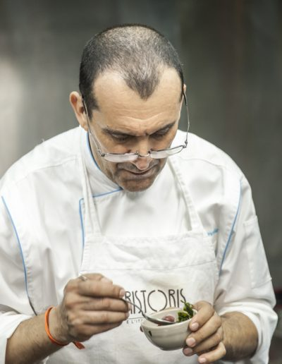 Chef de restaurant. Photographe culinaire.