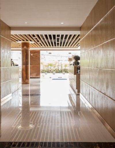 Photographie d'intérieurs. Hall d'entrée d'hotel. Massimo Municchi photographe