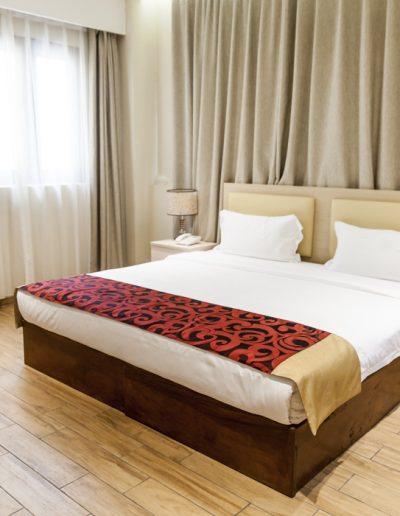 Photo immobilière. Chambre d'hotel. Vientiane
