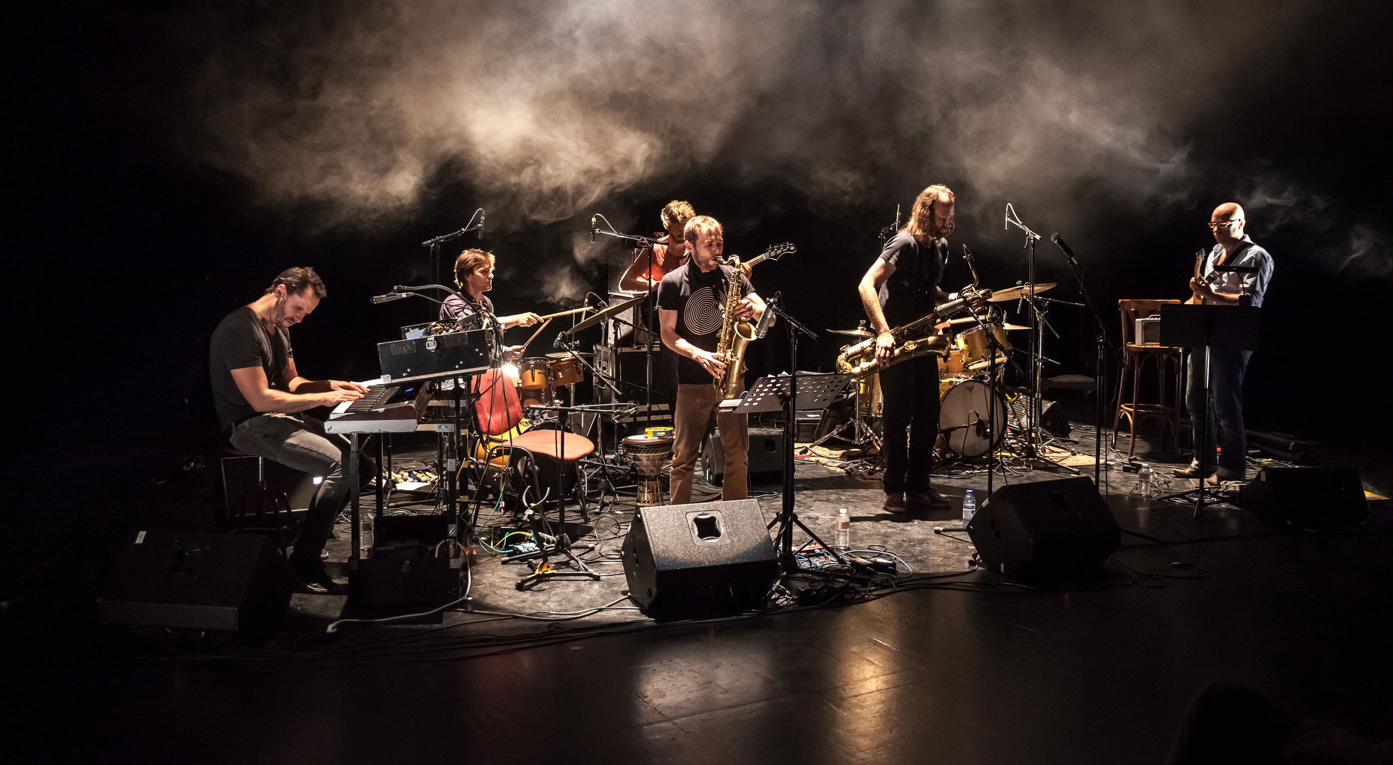 Photo de concert - Brussels Jazz Meeting 2017