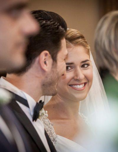 Photographie de mariage - dans l'église